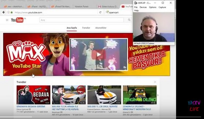 Youtube  video  nasıl yüklenir..
